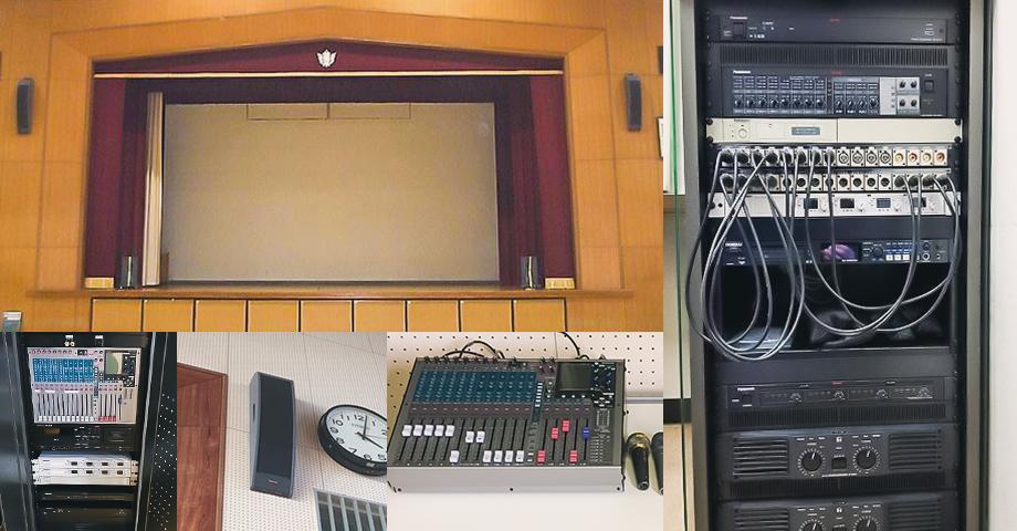 体育館音響設備